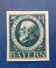 Germany Stamps Bavaria Bayern 5 Mark 1916 Mi. Nr. 107 (16649)
