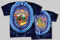 "Grateful Dead ""Walking Coast to Coast-Tie Dye T-Shirt-100% Cotton-NEW"
