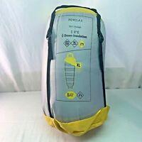 Decathlon Forclaz Trek 900 Ultralight Sleeping Bag- Size XL, Yellow *BRAND NEW*