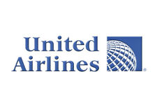 "United Airlines (Globe) Logo Fridge Magnet 3.25""x2.25"" Collectibles (LM14151)"