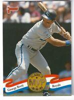 1993 Donruss MVPs #3 GEORGE BRETT Kansas City Royals