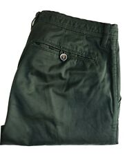 Ted Baker Pants / Chinos, 34 x 32, Hunter Green, Slim Fit, Cotton, Exc Cond