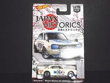 Hot Wheels Nissan Skyline HT 2000 GT-X Japan Historics 1/64