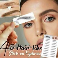 4D Haar-wie authentische Augenbrauen Pflege Shaping Brow Shaper Make-up