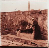 Algeria Maghreb Wc Trono Francia Colonialismo Foto Placca Stereo Vintage