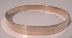Vintage Rolled Gold Bangle Bracelet 7.5cm