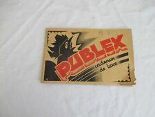 vieux papiers : carnet de collecte de timbres prime publex coq un repas sans vin