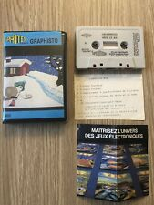 Graphisto sprites msx french complete rare only 1 on ebay