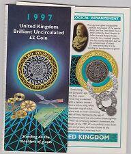 1997 in piedi sulle spalle dei giganti cerchiato £ 2 Coin Pack