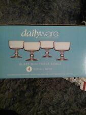Dailyware Glass Mini Trifle Bowls