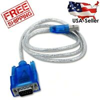 USB To RS232 Serial Converter Cable Adapter DB25 DB9 for PDA & Modem