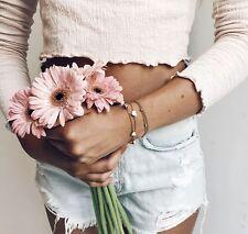 Kette Armband Armkette Bracelet Herz Anhänger Liebe Heart Love Charms Gold