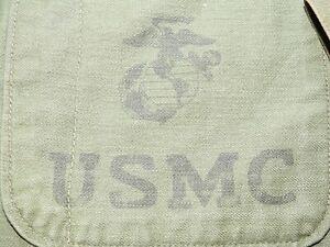 USMC Marine US Vietnam P-58 SATEEN COMBAT FATIGUE SHIRT Vtg Utility Coat RARE