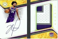 Marvin Bagley III 2018-19 Opulence RC Rookie Booklet Patch/Auto Kings #MB 18/25