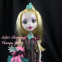 Monster High LAGOONA BLUE Scaris City  of Frights Doll Outfit Shoes Purse Lot