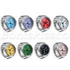 Finger Ring Watches Elastic Band Quartz Analog Watch Cute Gift For Men Women Kid
