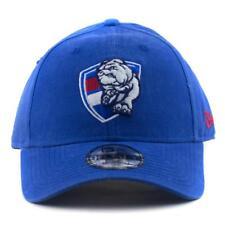 Western Bulldogs New Era AFL Team 9Forty Hat Genuine Cap In Blue Winter