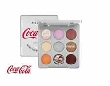 The Face Shop Coca-Cola Eye shadow Silver 9 color palette / Free Gift / K Beauty