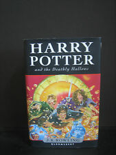 HARRY POTTER AND THE DEADLY HALLOWS HARDCOVER FIRST EDITION J K ROWLING
