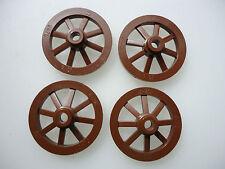 Brown CARRO RUOTE PICCOLE DA 27 mm (D) parte 2470 x 4