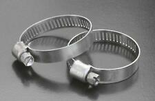 Stainless  Hose Clips, 8mm Band, Tridon 325 Carbon Plated Screw 27mm-51mm, x 5