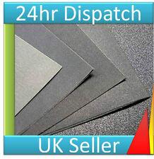 8 X ASSORTITI umido e a secco o sabbia Carta carta vetrata fogli LEGNO VERNICE METALLO PLASTICA