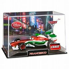 Disney Store Cars 2 Collector Case Metallic Francesco Bernoulli Chase 1:43 NEW