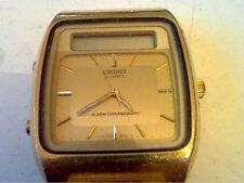 1980'S DUAL DISPLAY H357-5109 SEIKO ALARM CHRONO WATCH!