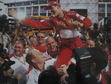 Poster Marlboro Ferrari F2002 2002 #1 Michael Schumacher (GER) World Champion