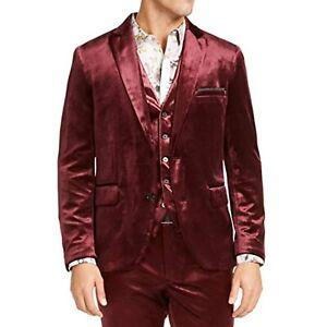 MSRP $150 INC Mens Purple Sport Coat Regular Purple Size XL