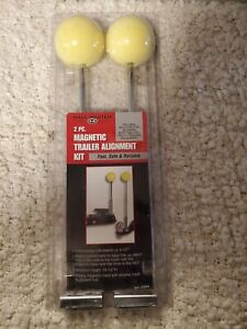 NIB Magnetic Trailer Hitch Alignment Kit For RV Boat Utility Trailers Set of 2