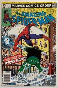 (1981) Amazing Spider-Man #212 1st Appearance HYDRO-MAN