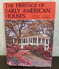 1969 The Heritage of Early American Houses Hardcover Photos Color Black & White