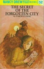 Nancy Drew: The Secret of the Forgotten City 52 by Carolyn Keene (1975, Book