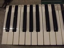 Casio CZ-1 Synthesizer replacement Key - hard to find keys / Toned Aged