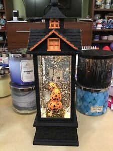 Bath and body works Halloween 2019 pumpkin glitter house