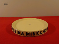 Vintage Ralston PURINA Mink Chow Dish RARE
