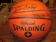BOSTON CELTICS AUTOGRAPHED BASKETBALL FROM 91/92 14 PLAYERS SINGED IT