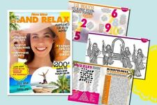 New Idea......And Relax Mindfulness for Busy Women - Colouring Puzzles NEW