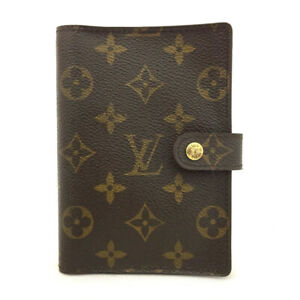 100% Authentic Louis Vuitton Monogram Agenda PM Notebook Cover /70907