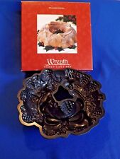 WILLIAMS SONOMA ~ WREATH ~  Bundt Cake Pan by Nordic Ware  ~ New in Box