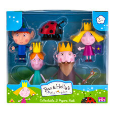 Character -Ben and Holly- 5 Figure Pack - Brand New