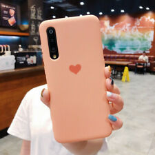 Love Heart Matte Rubber Soft Case Cover For Huawei P30 Pro Mate 20 10 P20 Lite