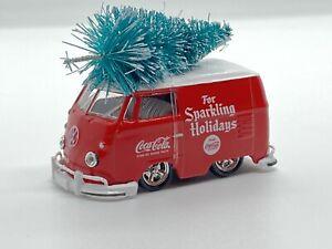 M2 MACHINES 1960 VW DELIVERY VAN *COKE SERIES* W/ RUBBER WHEELS 1 OF 7800