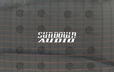Sundown Audio Car Audio Logo Vinyl Decal for Window/Case and many other Surfaces