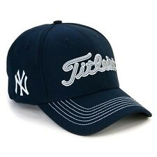 New Titleist Golf MLB Fitted Golf Hat New York Yankees Hat Medium/Large M/L Navy