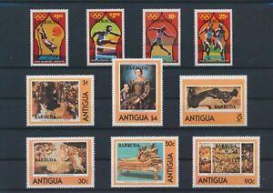 LN81758 Antigua & Barbuda olympics paintings fine lot MNH