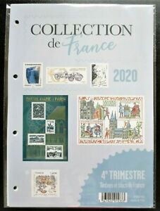 FRANCE - 4e TRIMESTRE 2020 - PROGRAMME PHILATÉLIQUE COMPLET TIMBRES NEUFS**