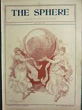 1900 VICTORIAN BOER WAR PRINT ~ THE SPHERE ~
