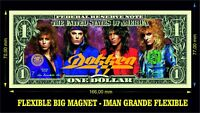 DOKKEN IMAN BILLETE 1 DOLLAR BILL MAGNET